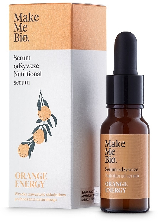 Gesichtsserum - Make Me Bio Serum Orange Energy — Bild N1