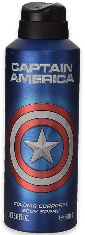 Deospray - Marvel Captain America Deodorant — Bild N1