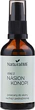 Düfte, Parfümerie und Kosmetik Hanfsamenöl - NaturalME (mit Pumpenspender)