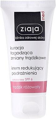 Antibakterielle Gesichtscreme gegen Akne - Ziaja Med — Bild N2