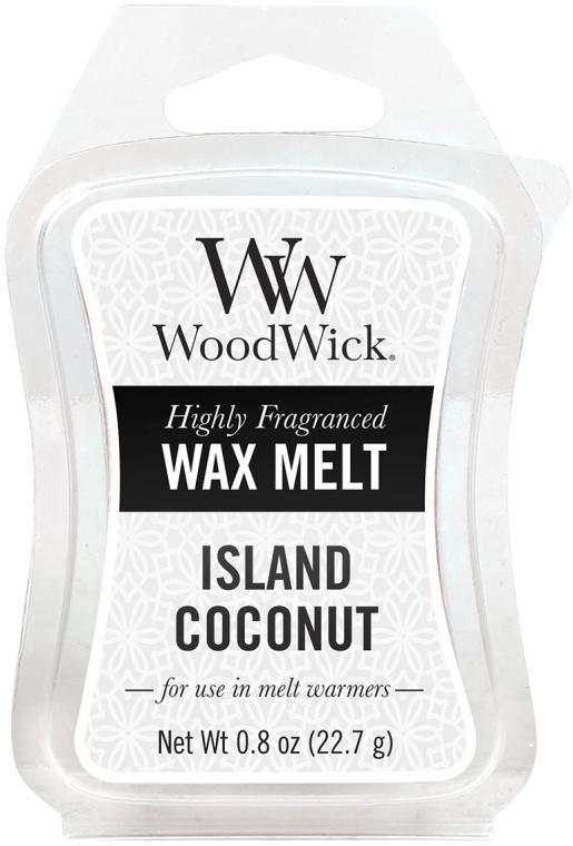 Tart-Duftwachs Island Coconut - WoodWick Wax Melt Island Coconut Smart Wax System — Bild N1