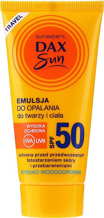 Sonnenschutzemulsion für Gesicht und Körper - Dax Sun Emulsion SPF50 — Bild N1