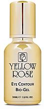 Düfte, Parfümerie und Kosmetik Feuchtigkeitsspendendes Anti-Falten Gel für die Augenpartie - Yellow Rose Eye Contour Bio-Gel