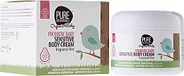 Düfte, Parfümerie und Kosmetik Körpercreme mit Aloe Vera-Blattextrakt für Kinder mit sensibler Haut - Pure Beginnings Probiotic Baby Sensitive Body Cream