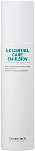 Düfte, Parfümerie und Kosmetik Beruhigende Gesichtsemulsion mit Teebaumwasser - Swanicoco A.C Control Care Emulsion