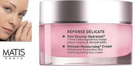 Feuchtigkeitsspendende Creme für trockene Haut - Matis Reponse Delicate Moisturising Cream  — Bild N2