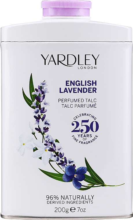 Yardley English Lavender Perfumed Talc - Parfümierter Talk mit Lavendel