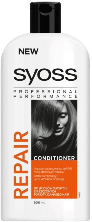 Haarspülung für trockenes und strapaziertes Haar - Syoss Repair Therapy — Bild N3