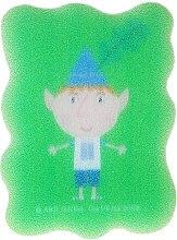 Düfte, Parfümerie und Kosmetik Kinder-Badeschwamm Ben und Holly grün - Suavipiel Ben & Holly