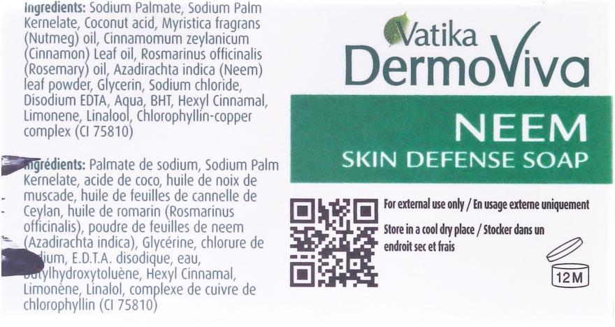 Antibakterielle Seife mit Neem - Dabur Vatika Neem Soap — Bild N3