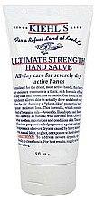 Düfte, Parfümerie und Kosmetik Regenerierende Handcreme für trockene Haut - Kiehl's Ultimate Strength Hand Salve