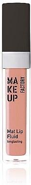 Lipgloss - Make up Factory Mat Lip Fluid Longlasting — Bild N1