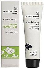 Düfte, Parfümerie und Kosmetik Gesichtsgel mit Manukaöl und Manukahonig für antibakterielle Pflege und Regeneration - Living Nature Manuka Honey Gel