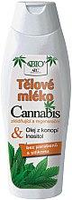 Düfte, Parfümerie und Kosmetik Körperlotion mit Hanföl und Inositol - Bione Cosmetics Cannabis Body Lotion