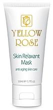 Düfte, Parfümerie und Kosmetik Revitalisierende Anti-Aging Creme-Maske mit Botox-Effekt - Yellow Rose Skin Relaxant Mask (in Tube)