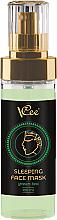 Düfte, Parfümerie und Kosmetik Nachtmaske für das Gesicht mit Grüntee-Extrakt - Vcee Sleeping Facr Mask Green Tea