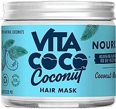 Düfte, Parfümerie und Kosmetik Nährende Maske für trockenes und krauses Haar mit Kokoswasser - Vita Coco Nourish Coconut Water Hair Mask