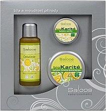 "Düfte, Parfümerie und Kosmetik Set ""Citrus"" - Saloos (oil/50ml + balm/50ml + balm/19ml)"
