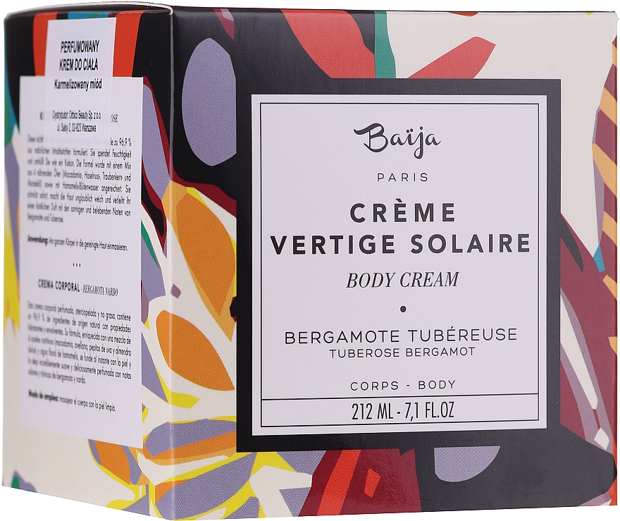 Parfümierte Körpercreme - Baija Vertige Solaire Body Cream — Bild N4