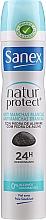 Düfte, Parfümerie und Kosmetik Deospray Antitranspirant - Sanex Natur Protect 0% Antimanchas Deo Spray