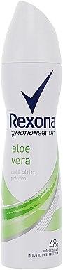 Deospray Antitranspirant - Rexona Motion Sense Aloe Vera Deodorant — Bild N1