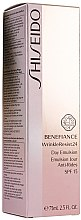 Düfte, Parfümerie und Kosmetik Tagesemulsion mit Anti-Falten-Wirkung - Shiseido Benefiance WrinkleResist24 Day Emulsion SPF15