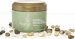 Düfte, Parfümerie und Kosmetik Regenerierende&feuchtigkeitsspendende Haarmaske mit Agavenheilöl - Bio Ionic Agave Healing Oil Restorative Hydrating Mask