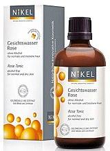Düfte, Parfümerie und Kosmetik Gesichtswasser mit Bio Rose für normale und trockene Haut - Nikel Rose Tonic