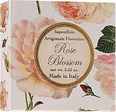 Düfte, Parfümerie und Kosmetik Naturseife Rose - Saponificio Artigianale Fiorentino Rose Blossom Soap