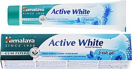 Düfte, Parfümerie und Kosmetik Aufhellendes 100% vegetarisches Kräuter-Zahnpasta-Gel Active White - Himalaya Herbals Active White Fresh Gel