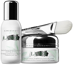 Düfte, Parfümerie und Kosmetik Gesichtspflegeset - La Mer The Brilliance Brightening Mask Duo (Gesichtscreme 50ml + Gesichtsprimer 30ml)