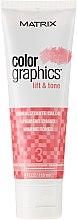 Düfte, Parfümerie und Kosmetik Haartoner für warme Pigmente mit Provitamin B5 - Matrix Color Graphics Lift & Tone Warm Toner