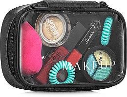 Düfte, Parfümerie und Kosmetik Kosmetiktasche Compact (ohne Inhalt) - MakeUp B:14 x H: 9 x T: 5 cm
