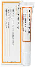 Düfte, Parfümerie und Kosmetik Liftingcreme für die Augenpartie mit Bienengift - Beaute Mediterranea Bee Venom Lifting Eye Contour Cream