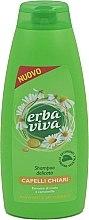 Düfte, Parfümerie und Kosmetik Shampoo für helles Haar mit Kamille - Erba Viva Shampoo for Light Hair