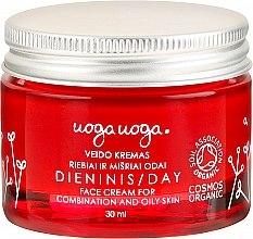 Hydratisierende Tagescreme für fettige und Mischhaut - Uoga Uoga Day Face Cream — Bild N2