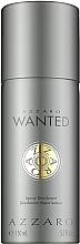 Düfte, Parfümerie und Kosmetik Azzaro Wanted - Parfümiertes Deospray