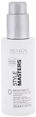 Styling-Haarserum für Glanz und mit Anti-Frizz-Effekt - Revlon Professional Style Masters Double or Nothing Brightastic — Bild N1