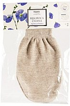 Düfte, Parfümerie und Kosmetik Leinen-Badehandschuh - Mohani Linen Bath Glove