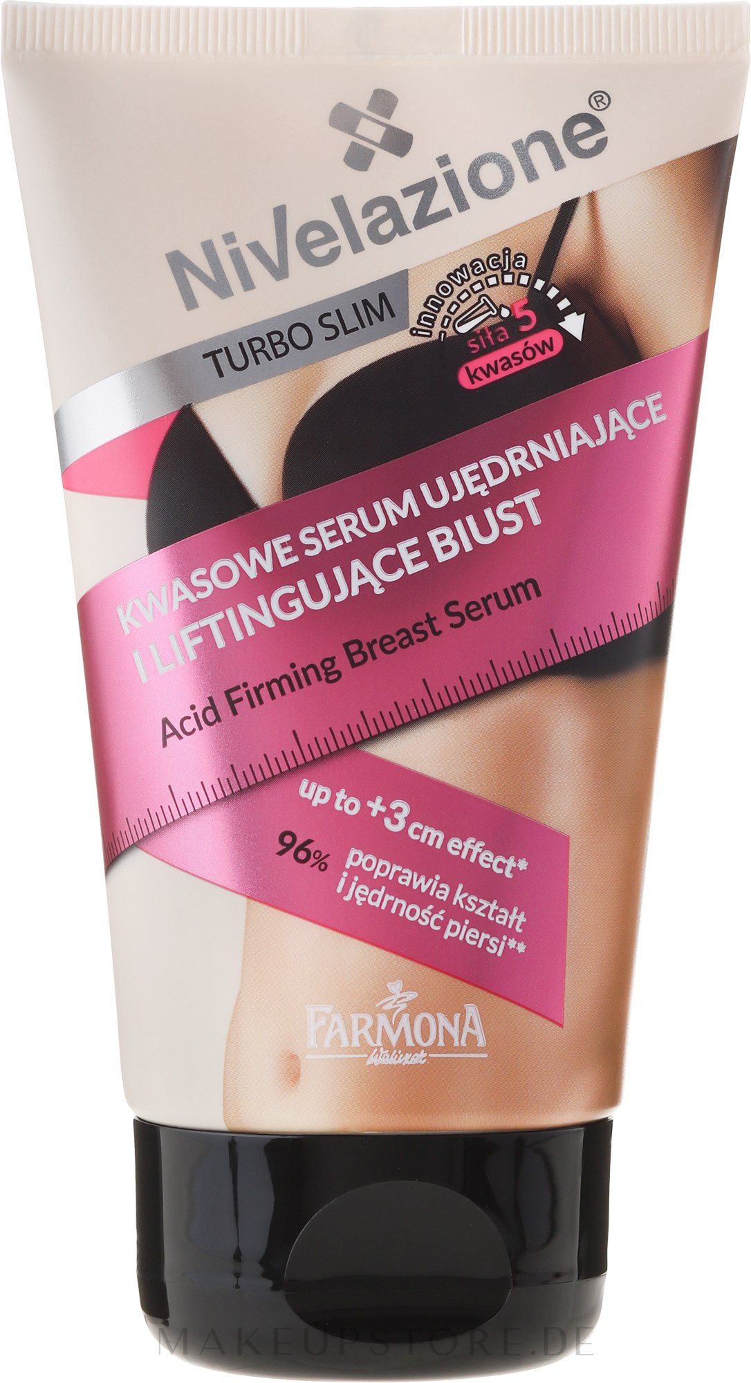 Straffendes Brustserum - Farmona Nivelazione Turbo Slim — Bild 120 ml