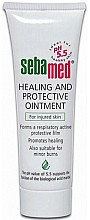 Düfte, Parfümerie und Kosmetik Heil- und Schutzsalbe für verletzte Haut - Sebamed Healing And Protective Ointment