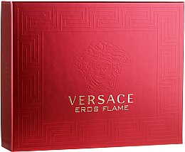 Düfte, Parfümerie und Kosmetik Versace Eros Flame - Duftset (Eau de Toilette/50ml+Duschgel/50ml+After Shave Balsam/50ml)