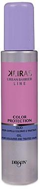 Pflegendes Öl für gefärbtes und behandeltes Haar - Dikson Kerais Color Protections Oil — Bild N1