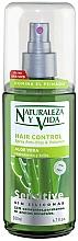 Düfte, Parfümerie und Kosmetik Anti-Frizz Haarspray für mehr Volumen mit Aloe Vera - Natur Vital Sensitive Hair Control Anti-Frizz & Volume Spray