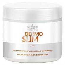 Düfte, Parfümerie und Kosmetik Intensiv straffende Körpermaske zum Abnehmen - Farmona Professional Dermo Slim Intensively Slimming And Firming Mask