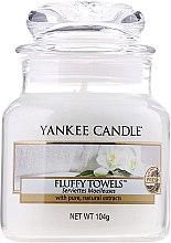 Düfte, Parfümerie und Kosmetik Duftkerze im Glas Fluffy Towels - Yankee Candle Fluffy Towels Jar