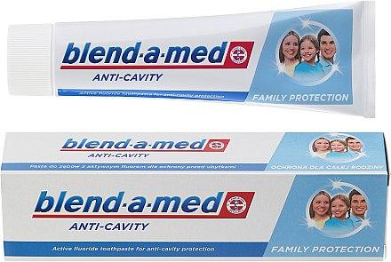 Zahnpasta Anti-Cavity Family Protection - Blend-a-med Anti-Cavity Family Protect Toothpaste — Bild N2