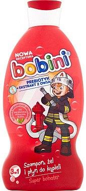 "3 in 1 Shampoo, Duschgel und Schaumbad ""Superheld"" - Bobini — Bild N1"