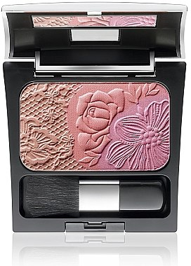 Gesichtsrouge Trio im Spiegeletui - Make Up Factory Rosy Shine Blusher — Bild N1