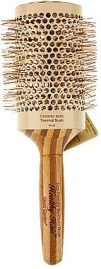 Klimafreundliche runde Bambusbürste d.63 - Olivia Garden Healthy Hair Eco-Friendly Bamboo Brush — Bild N1